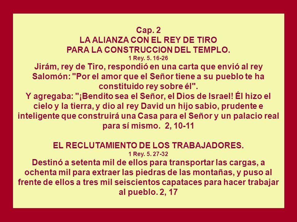 Dios respondió a Salomón: