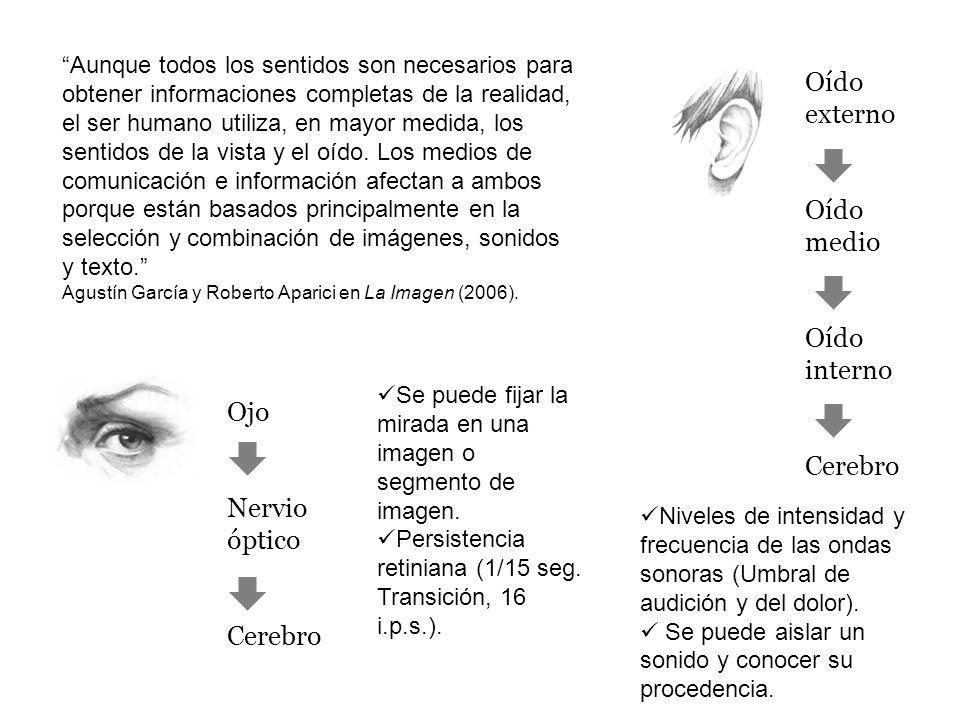 Percepción Otros sentidos OídoVista Asociaciones interpretativas Previas Experiencias La percepción siempre está necesitada de universales.