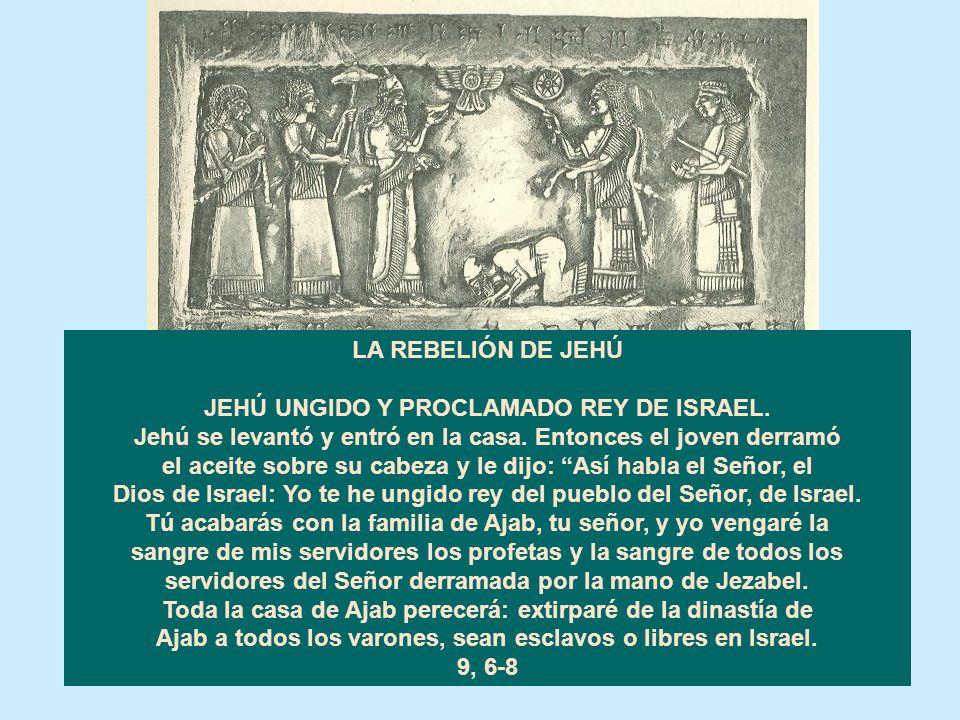 EL REINADO DE JORÁM EN JUDÁ (848-841). Siguió el camino de los reyes de Israel, conforme a lo que había hecho la casa de Ajab, porque se había casado