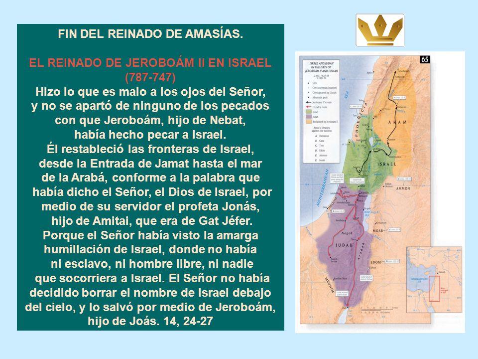 LA VICTORIA DE AMASÍAS SOBRE EDÓM Y SU DERROTA FRENTE A ISRAEL. Joás, rey de Israel, tomó prisionero en Bet Semes a Amasías, hijo de Joás, hijo de Oco