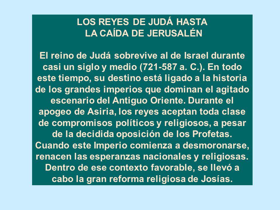 REFLEXIÓN SOBRE LA RUINA DEL REINO DEL NORTE. El Señor había advertido solemnemente a Israel y a Judá por medio de todos los profetas y videntes, dici