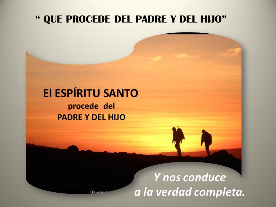 CREO EN EL ESPÍRITU SANTO: SEÑOR Y DADOR DE VIDA SIN EL ESPÍRITU SANTO SIN EL ESPÍRITU SANTO -NO HAY LIBERTAD -NI VIDA CRISTIANA -NI IGLESIA