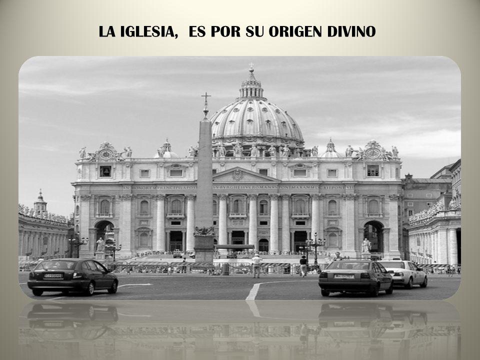La Iglesia es el cuerpo de CRISTO, el Templo del ESPÍRITU. Está llamada a ser instrumento de unión entre Dios y los Hombres CREO EN LA IGLESIA