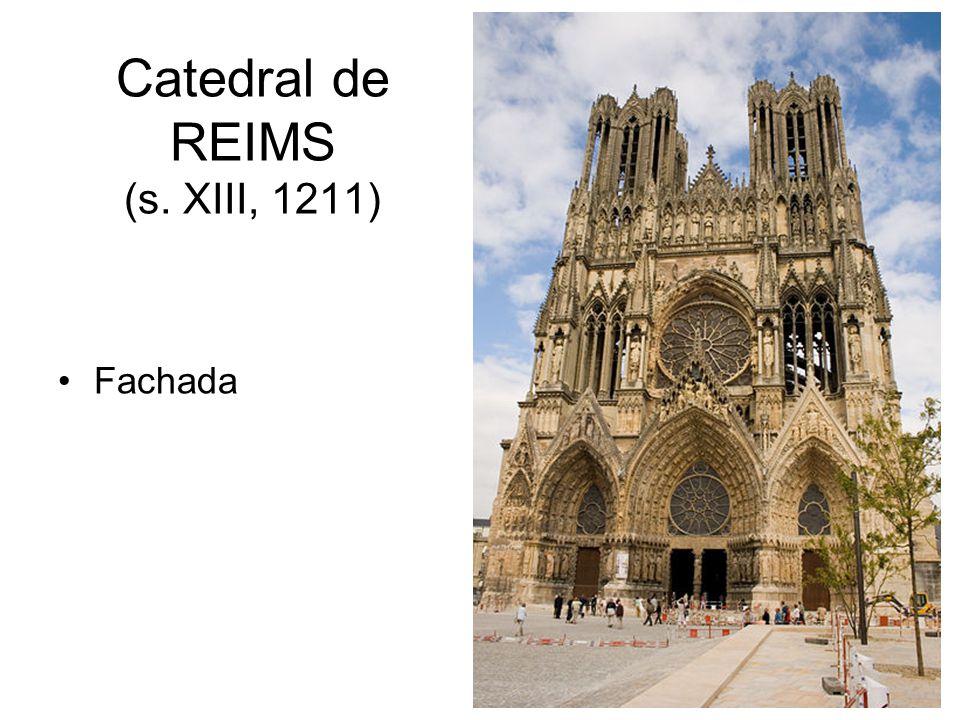 Catedral de REIMS (s. XIII, 1211) Fachada