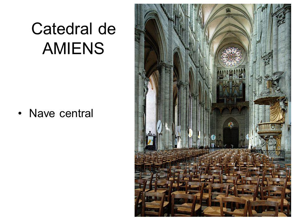 Catedral de AMIENS Nave central