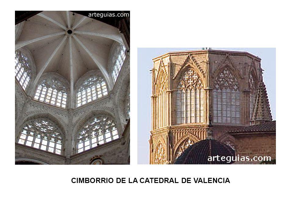 CIMBORRIO DE LA CATEDRAL DE VALENCIA