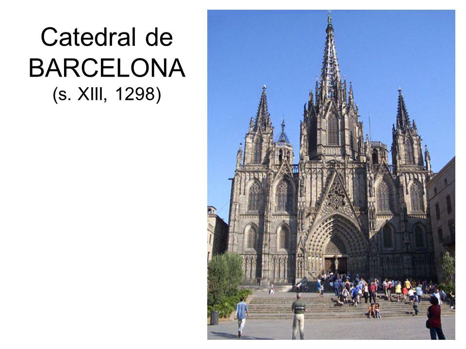 Catedral de BARCELONA (s. XIII, 1298)