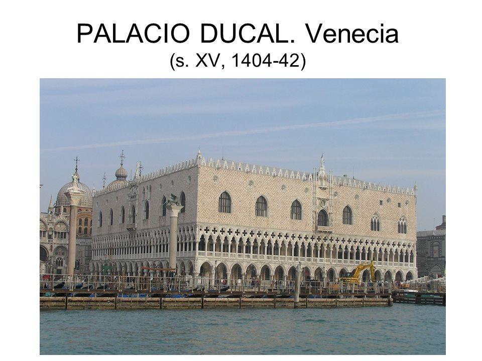 PALACIO DUCAL. Venecia (s. XV, 1404-42)