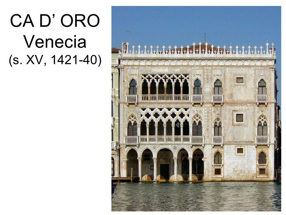 CA D ORO Venecia (s. XV, 1421-40)