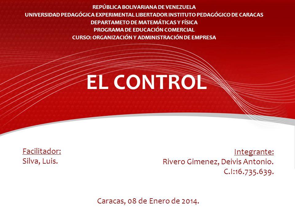 REPÚBLICA BOLIVARIANA DE VENEZUELA UNIVERSIDAD PEDAGÓGICA EXPERIMENTAL LIBERTADOR INSTITUTO PEDAGÓGICO DE CARACAS DEPARTAMETO DE MATEMÁTICAS Y FÍSICA