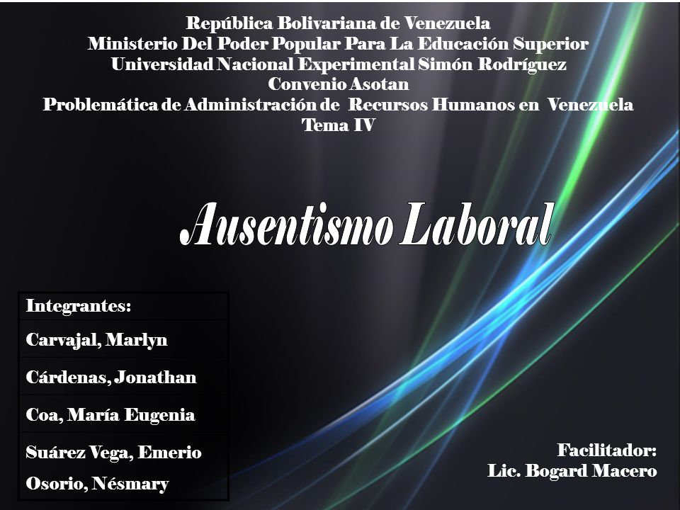 República Bolivariana de Venezuela Ministerio Del Poder Popular Para La Educación Superior Universidad Nacional Experimental Simón Rodríguez Convenio