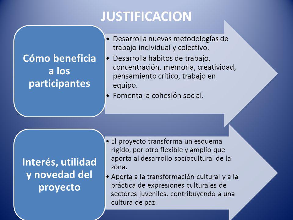 Desarrolla nuevas metodologías de trabajo individual y colectivo.