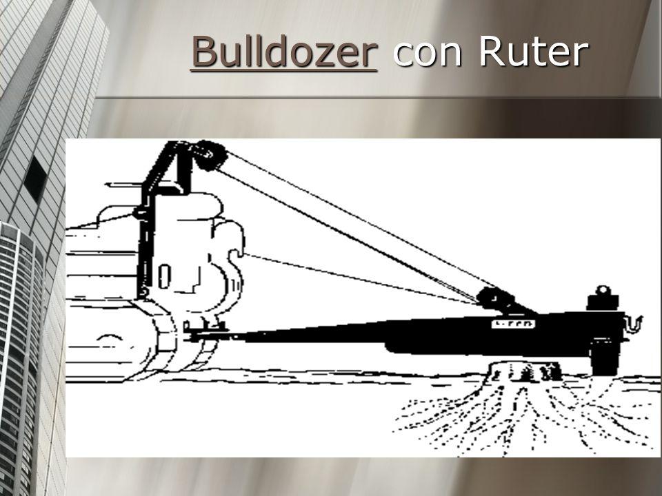 BulldozerBulldozer con Ruter Bulldozer