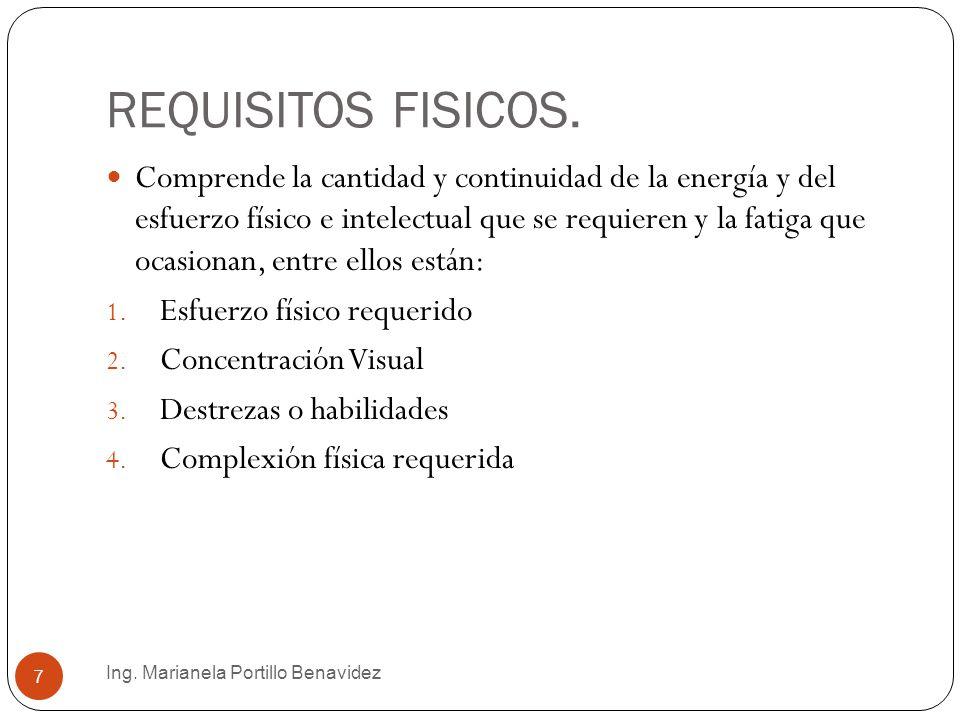 RESPONSABILIDADES ADQUIRIDAS.Ing.