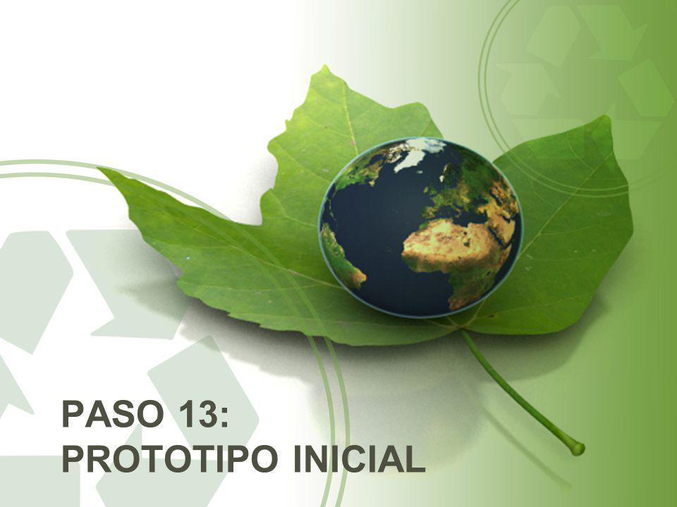 PASO 13: PROTOTIPO INICIAL