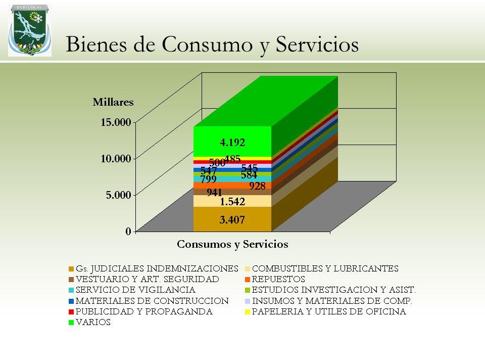 Bienes de Consumo y Servicios