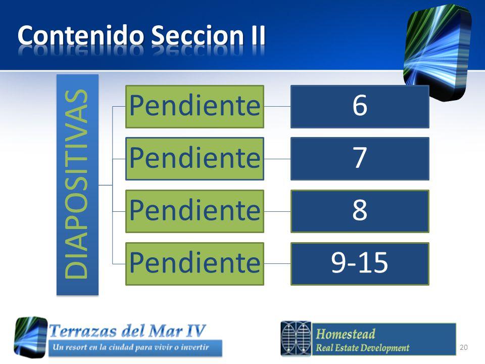 DIAPOSITIVAS Pendiente6 7 8 9-15 20
