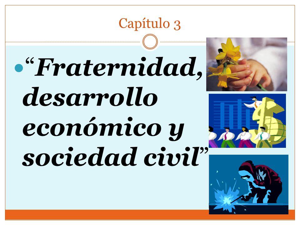 Capítulo 3 Fraternidad, desarrollo económico y sociedad civil