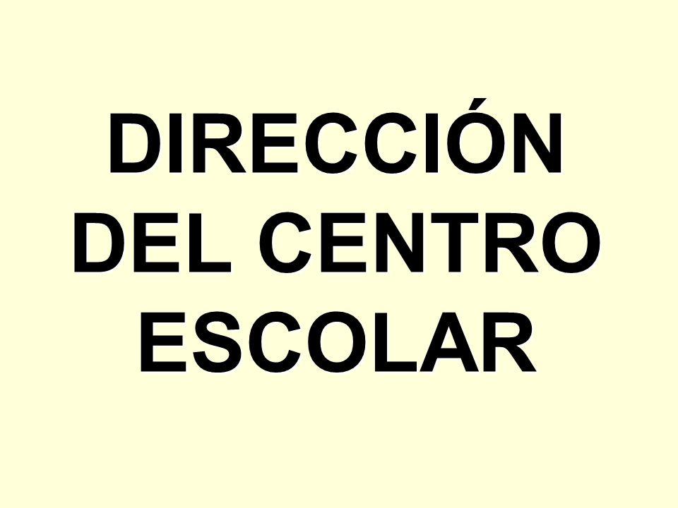 DIRECCIÓN DEL CENTRO ESCOLAR