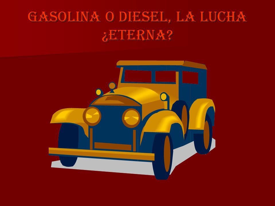El pique gasolina-diesel era una situación que antes no se daba.