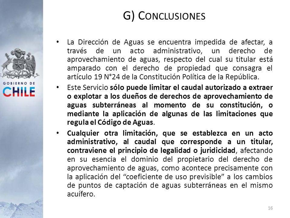 La Dirección de Aguas se encuentra impedida de afectar, a través de un acto administrativo, un derecho de aprovechamiento de aguas, respecto del cual