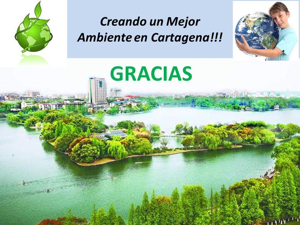 Creando un Mejor Ambiente en Cartagena!!! GRACIAS