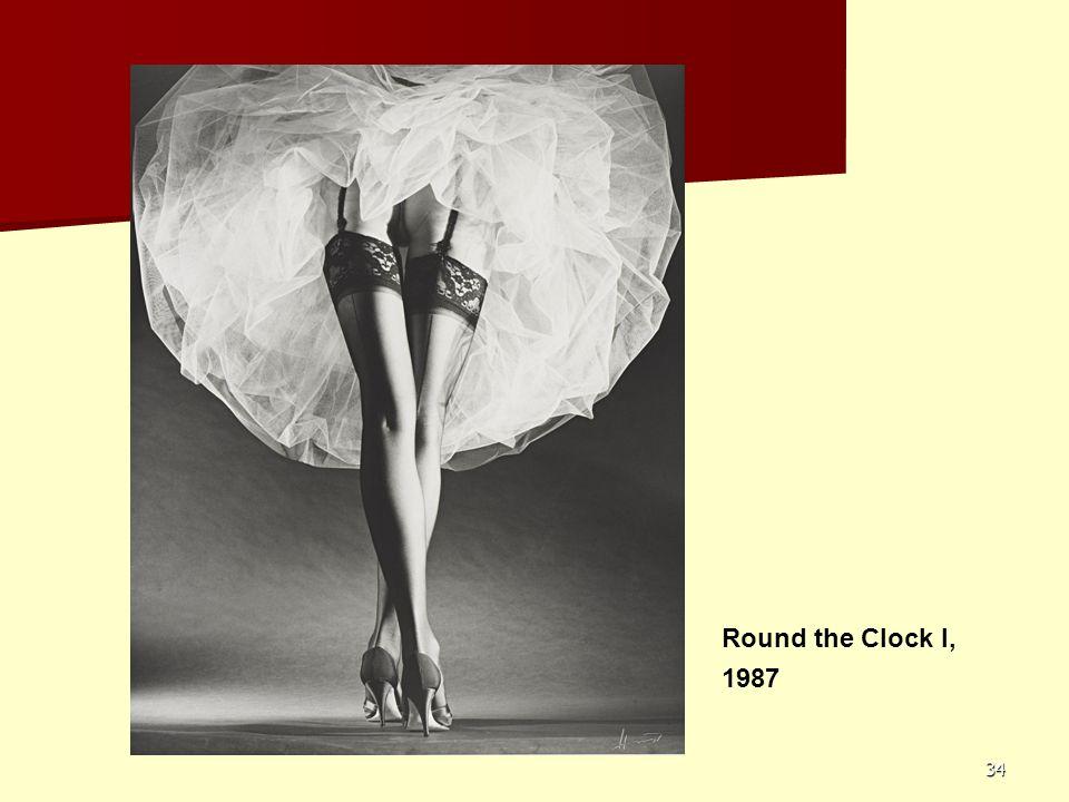 34 Round the Clock I, 1987