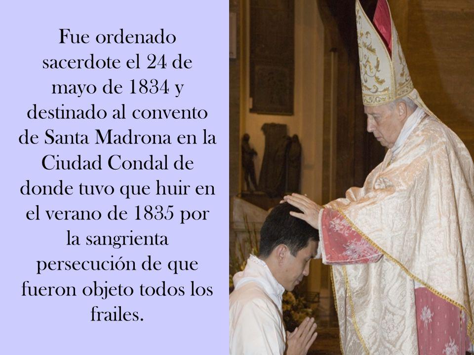 A los 16 años de edad, siguiendo la llamada del Señor, vistió el hábito religioso, en la provincia capuchina de Cataluña, distinguiéndose por su amor