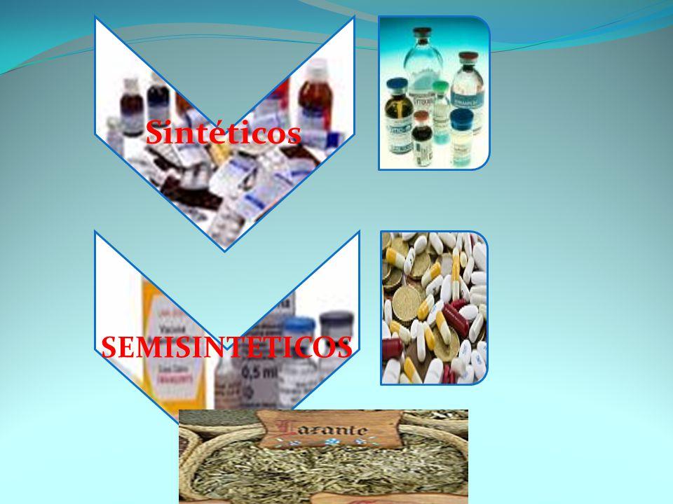 Sintéticos SEMISINTETICOS