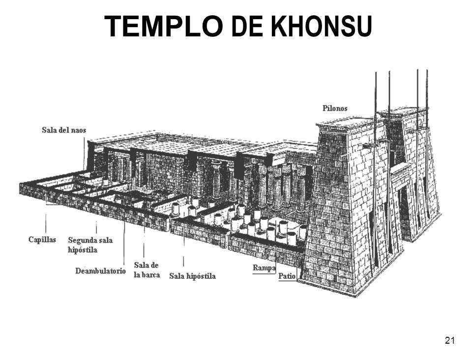 TEMPLO DE KHONSU 21