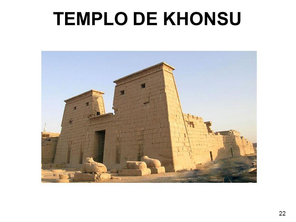 TEMPLO DE KHONSU 22