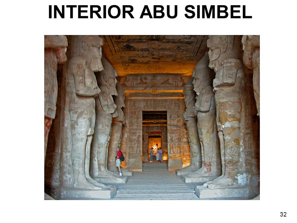 INTERIOR ABU SIMBEL 32