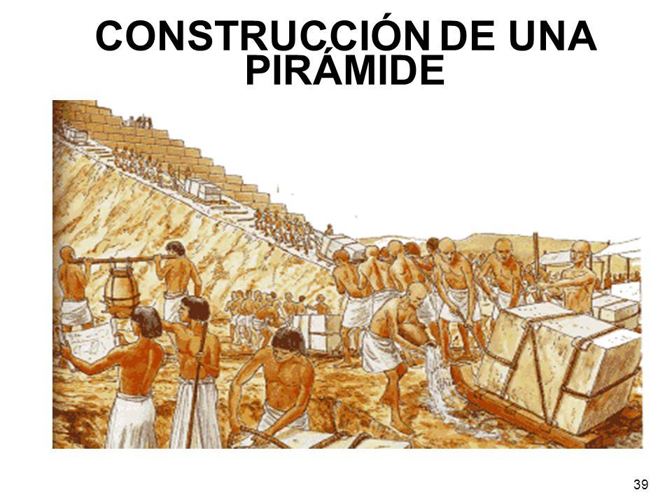 CONSTRUCCIÓN DE UNA PIRÁMIDE 39