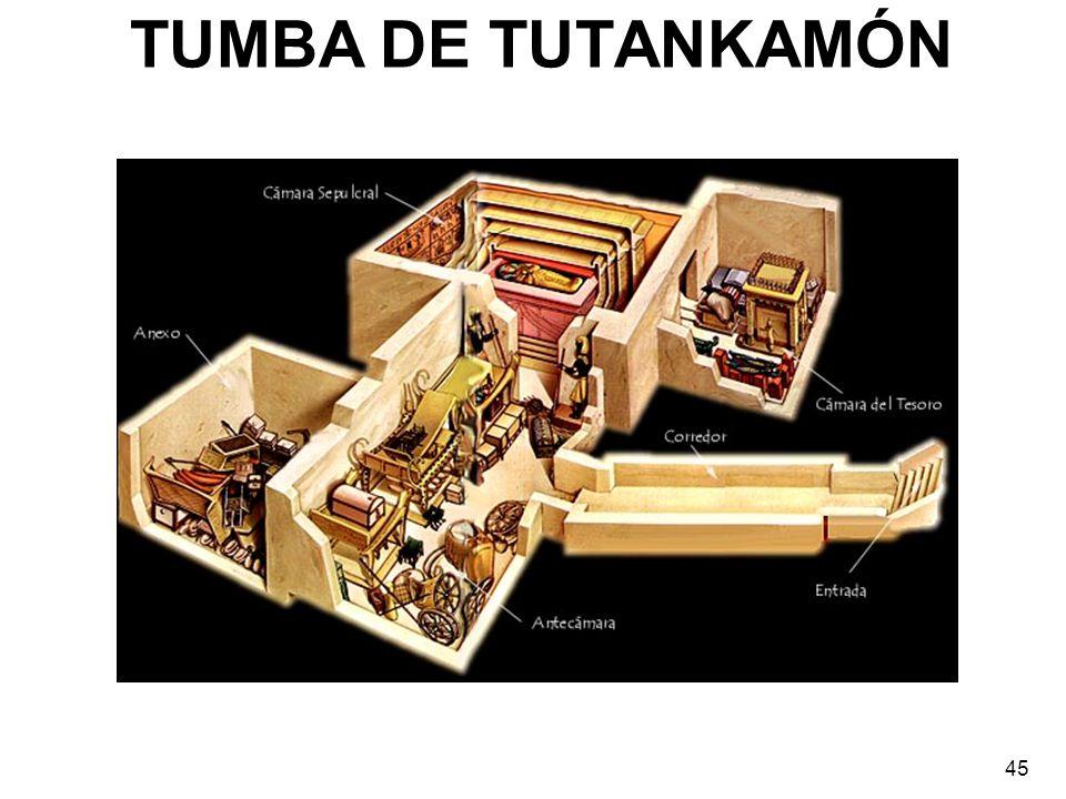 TUMBA DE TUTANKAMÓN 45