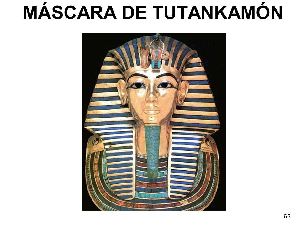 MÁSCARA DE TUTANKAMÓN 62