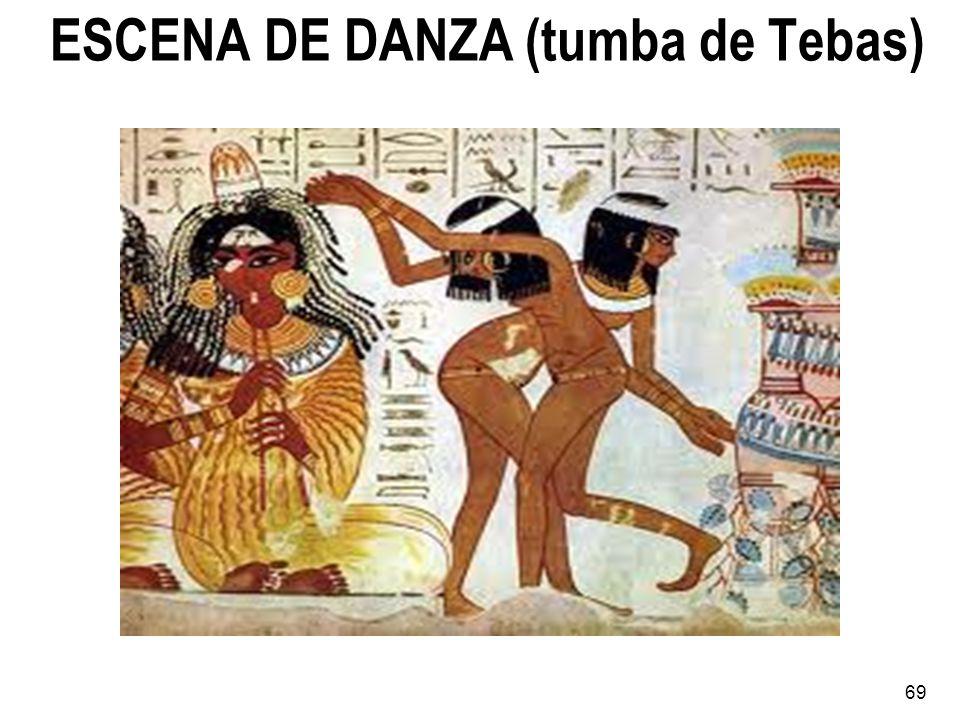 ESCENA DE DANZA (tumba de Tebas) 69