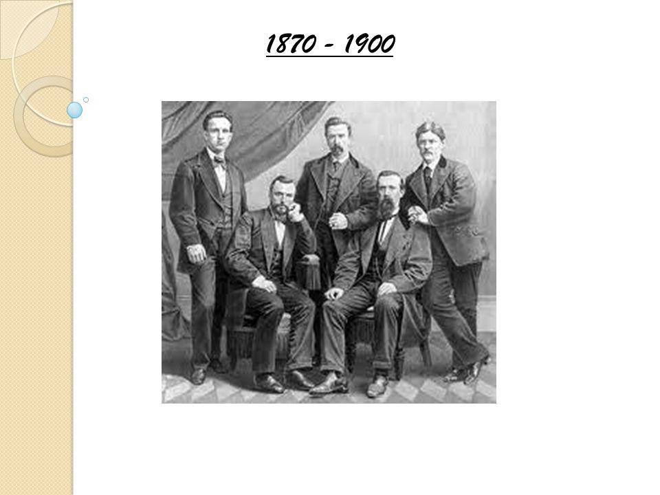 1870 - 1900