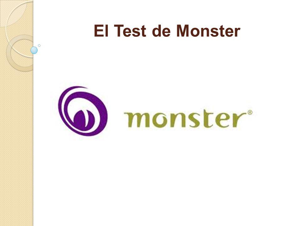El Test de Monster
