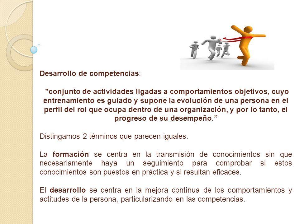 Desarrollo de competencias: