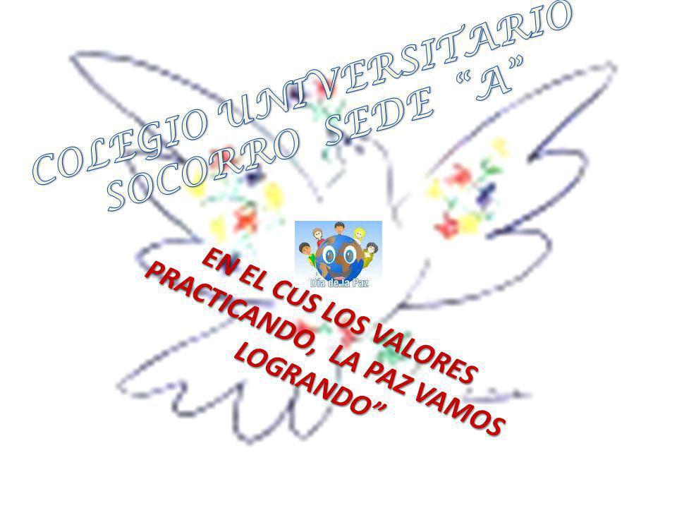 La comunidad educativa del colegio universitario del socorro Padres, docentes, administrativos y estudiantes.