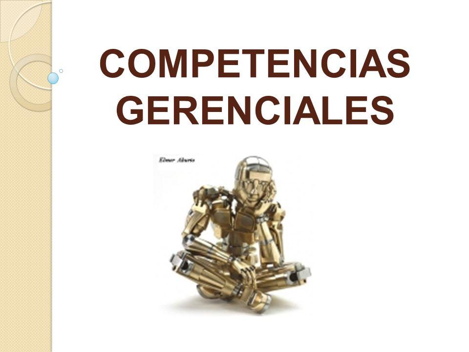 COMPETENCIAS GERENCIALES