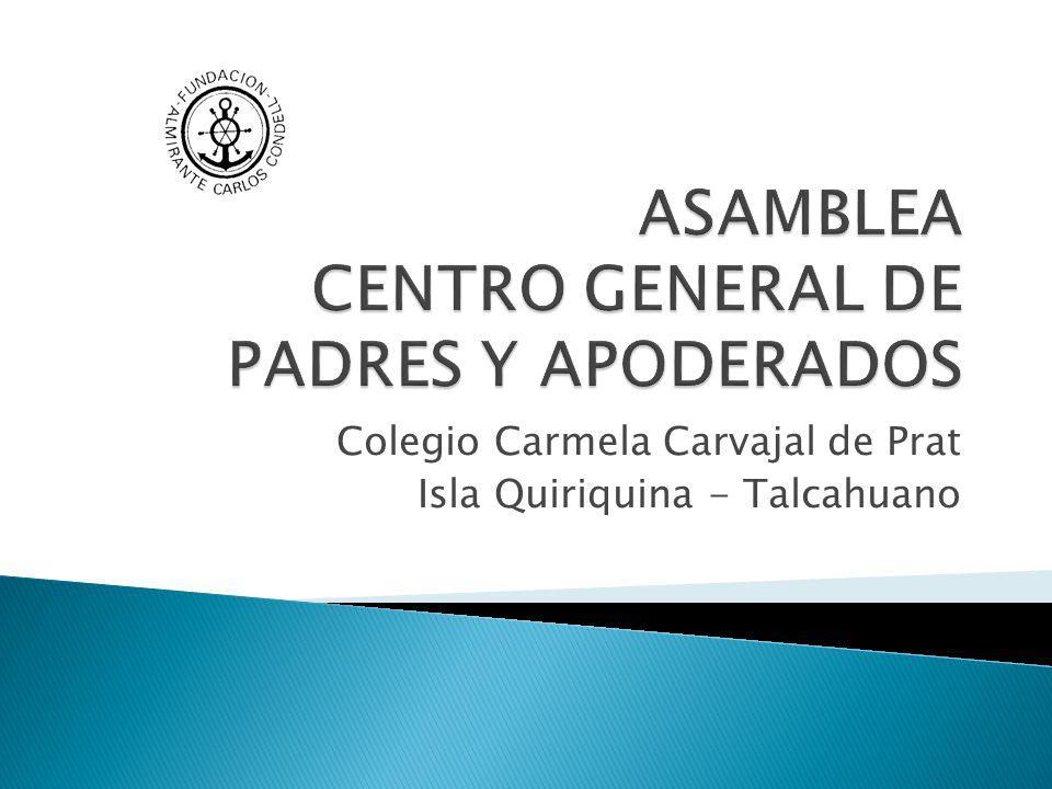 Oportunidades (externo)Amenazas Prestigio ascendente de nuestro colegio que permite captar matrícula aún de alumnos residentes fuera de la Isla Quiriquina.