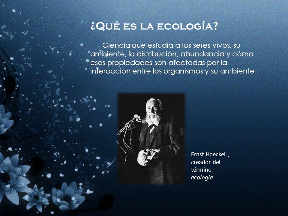 Ecología Maestra: Pérez Cruz Paula Alumnos: Castro Ochoa Alma Gloria Martínez Ortega Brandon 6°E