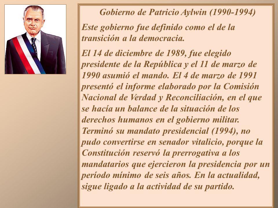 1990: Se inauguró en Valparaíso la nueva sede del Congreso Nacional, que reinició sus funciones tras 16 años y cinco meses de receso. Además, tomó pos