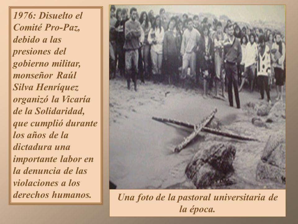 Se estableció por el decreto Ley N° 527 de 1974, que el presidente de la Junta (el general de Ejército Augusto Pinochet) tendría en sus manos el Poder