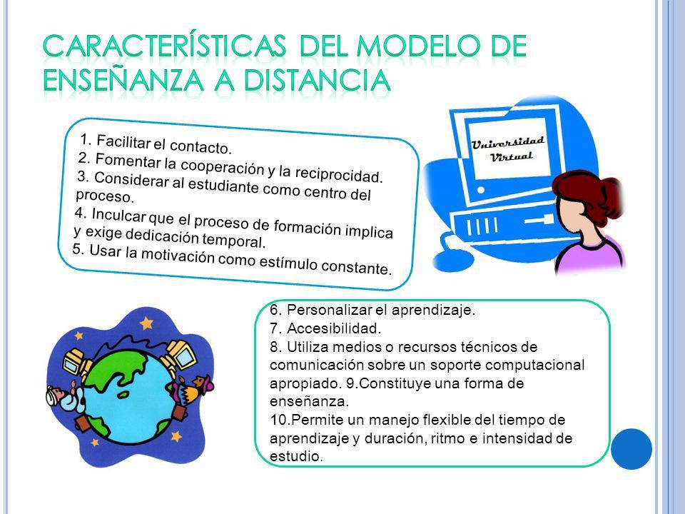 1.Facilitar el contacto. 2. Fomentar la cooperación y la reciprocidad.