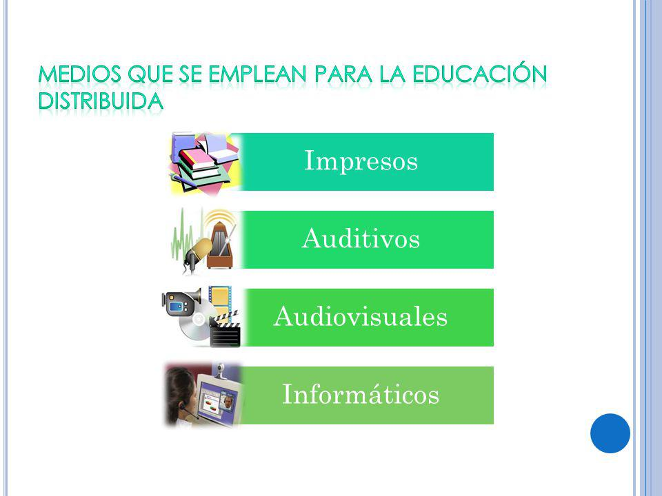 Impresos Auditivos Audiovisuales Informáticos