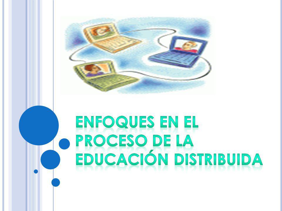 Educación distribuida: Lo que hay que hacer es enseñar, al llevar la clase a distancia.