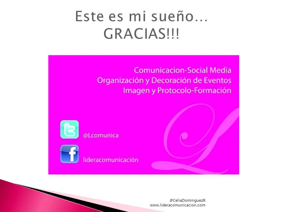 @CeliaDominguezR www.lideracomunicacion.com
