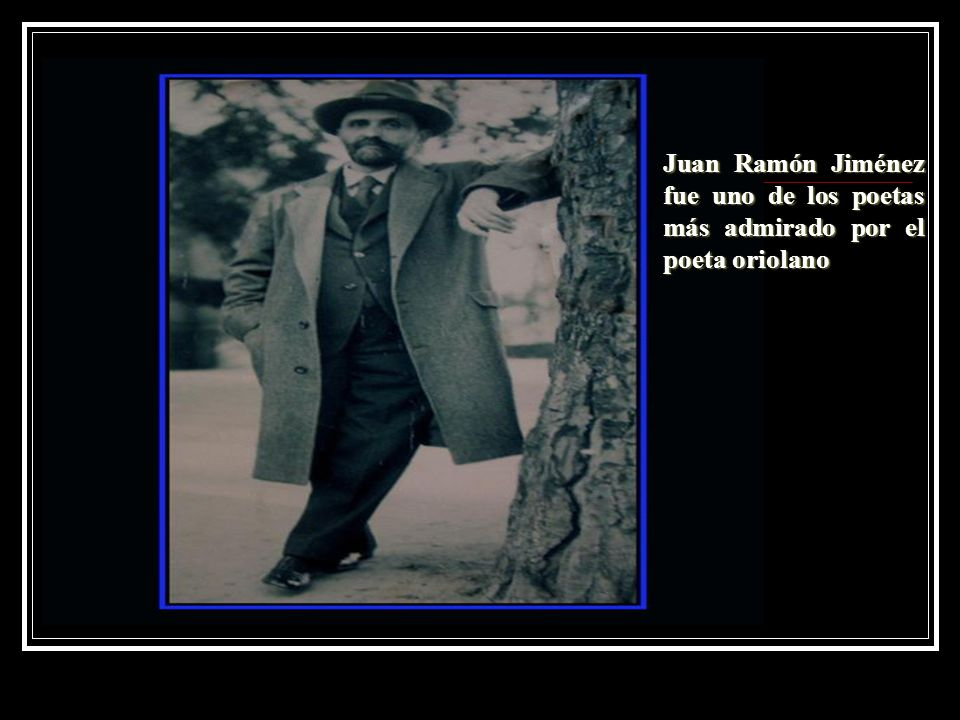 Juan Ramón Jiménez fue uno de los poetas más admirado por el poeta oriolano
